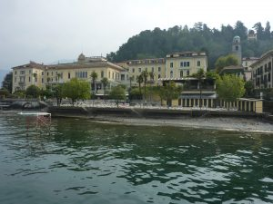 View of Lenno from the ferry