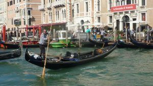 Gondoliers everywhere, at enormous cost
