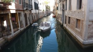 Canals of all sizes - locals pay 2 euro while tourists can pay over 100