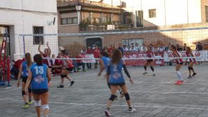 We got to watch a volleyball match on the winding trip back to the station to return to Padova